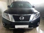01_Nissan_Pathfinder_IV_R52_Установка_bi_led_линз