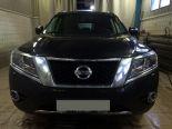 10_Nissan_Pathfinder_IV_R52_Установка_bi_led_линз